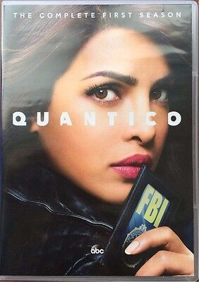 Quantico: The Complete First Season 1  (DVD, 2016, 5-Disc Set)