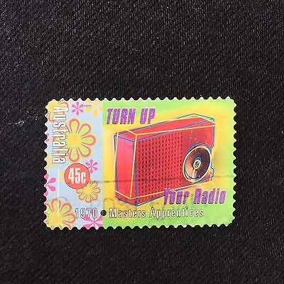 Australian 1998 Turn Up Your Radio Masters Apprentice Stamp Used Excellent Cond