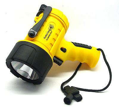 Perfect Image Marine floating waterproof LED spotlight Ideal for the boat Yellow