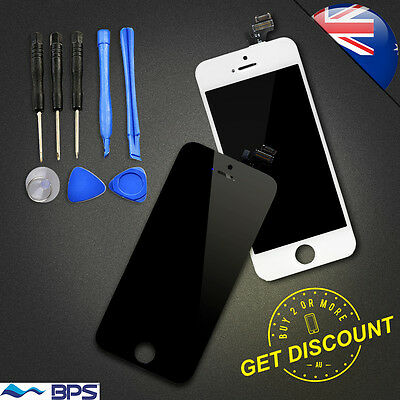 For iPhone 4 5 5c 5s 6 LCD Digitizer Screen Touch Replacement Assembly Tools AU
