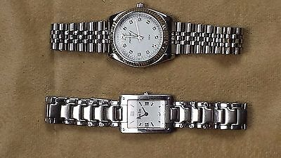 Lot of two ladies watches Roven Dino Primus, Mondaine 5ATM stainless