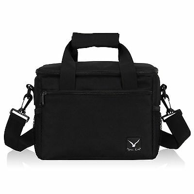 Veevan Recycled Insulated Lunch Bag Black