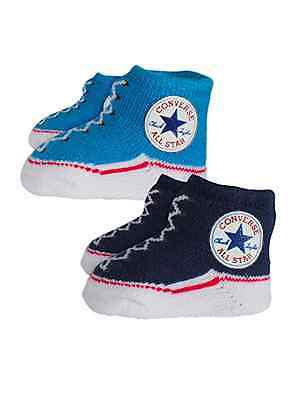 Converse Baby All Star Knit Booties 2 Pack Navy/Blue