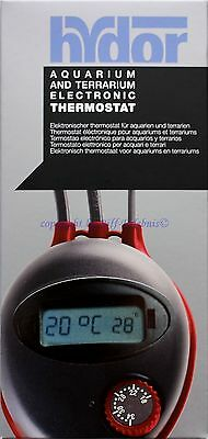Hydor Aquarium und Terrarium Electronic Thermostat  digital Display