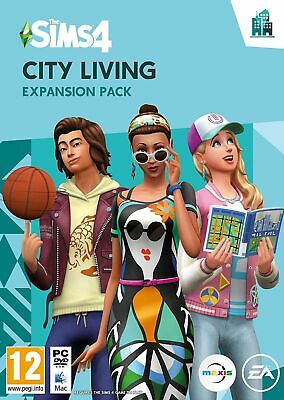 The Sims 4 City Living Expansion Pack (PC/MAC) Brand New & Sealed UK