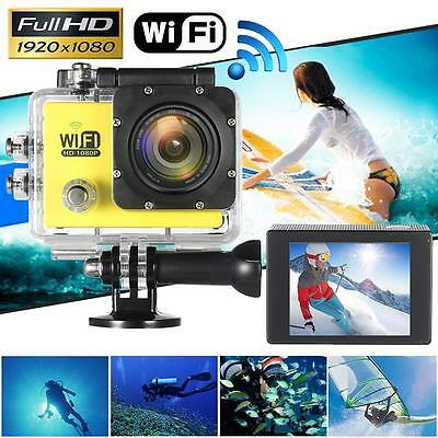 WiFi FULL HD 1080P 12MP Waterproof Sports DV Video Action Camera Camcorder DVR