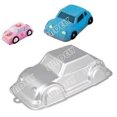 Sundely Birthday Cake Car Automobile VW Beetle 3D Decorating Pan Mould Gift