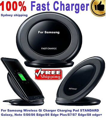 Samsung Wireless Fast Charging STAND Pad for Galaxy S6/S7 & edge/Note 5/7