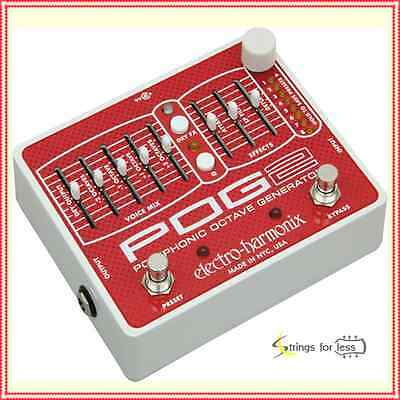 Electro-Harmonix POG2 Polyphonic Octave Generator Guitar Effects Pedal
