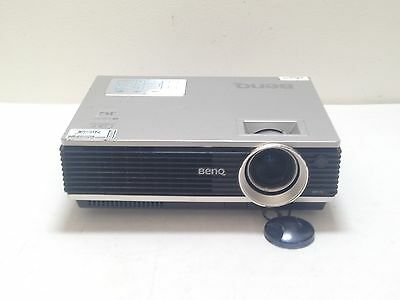 BenQ MP770 DLP LCD PROJECTOR USED 2660h LAMP HOURS IMAGE DULL SHADE   REF:S35