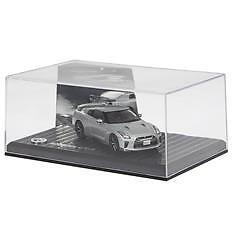 1:43 Official Nissan Gt-R Diecast Model In Silver