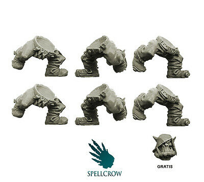Spellcrow - Orc Running Legs - Orcs BITS