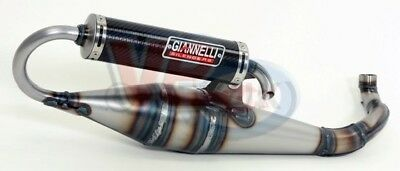 Yamaha Aerox - Giannelli Shot V4 Mid Race Exhaust Best Suited For Tuned Motors