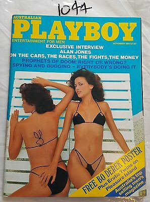 Playboy Australian 1980 November,*near Mint* .