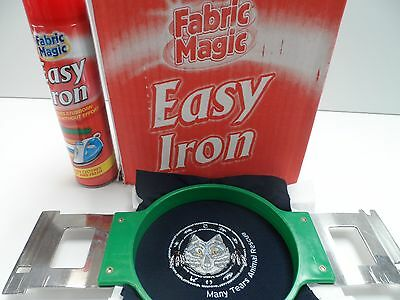 Single head embroidery machine Easy Iron Hoop mark remover