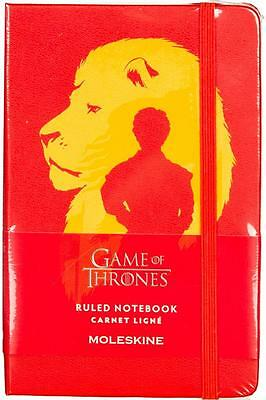 MOLESKINE x GAME of THRONES SMALL RULED NOTEBOOK (LIMITED EDITION) BRAND NEW!!