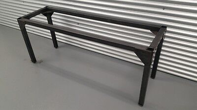 Steel Table FRAME BASE 21x69x28 h Industrial furniture Dining Table Steampunk
