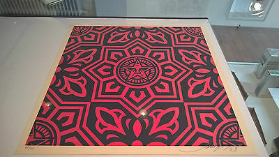 Shepard Fairey - venice pattern set- 3x signed & numbered - Obey