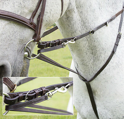 NEW Shires Market Harborough Martingale Training Aid - Lunging - Pony/Cob/Full