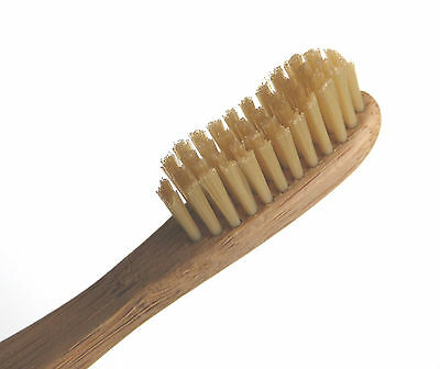 Eco-friendly Bamboo Toothbrush 4-pack - Ecological; Biodegradable Handle