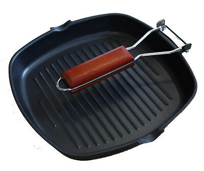 Sunncamp Griddle Pan With Fold Away Handle