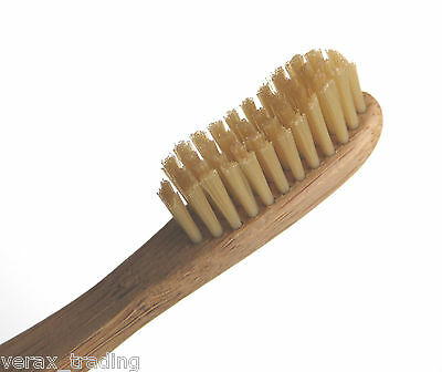 Eco-friendly Bamboo Toothbrush 2-pack - Ecological; Biodegradable Handle