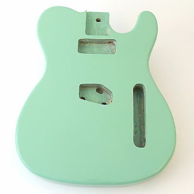 Surf Green ash guitar body for Telecaster Tele