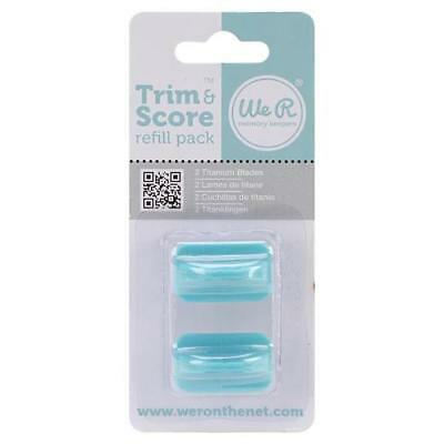 We R Memory Keepers Paper Trimmer Refill Blades 2pcs