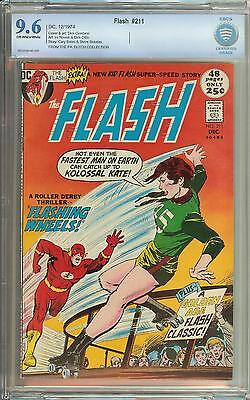 Flash #211 Cbcs 9.6 1St App Of The Rival #104 Only Silver/bronze/copper App Cgc