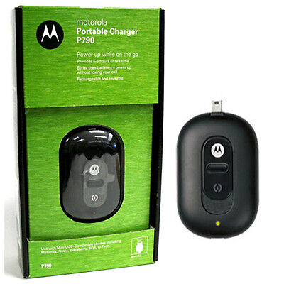 NEW Original MOTOROLA P790 MiniUSB PORTABLE Charger RETAIL