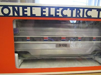 Lionel O Scale Amtrak Set Vintage 1989 Mint In Box's 7 Passenger (8565-Train Nss
