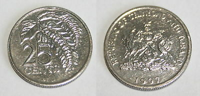 25 Cent 1997 Republic Of Trinidad And Tobago