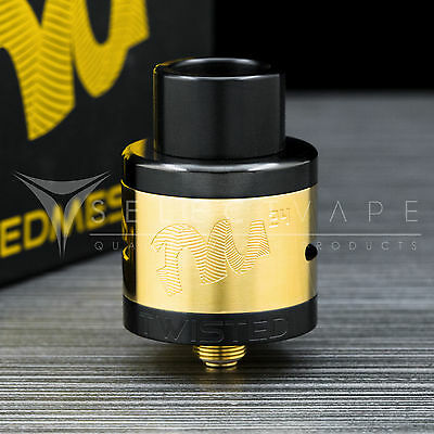 Twisted Messes 24mm RDA - Black/Gold (Wismec) (Authentic)