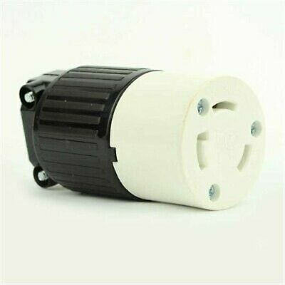 Twist Lock Electrical Receptacle 3 Wire, 30 Amps, 250V, NEMA L6-30R, YGA017F