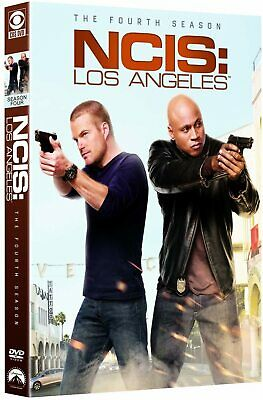 NCIS LOS ANGELES Complete Season 4 DVD Fourth 4th Forth Series Four N.C.I.S. LA