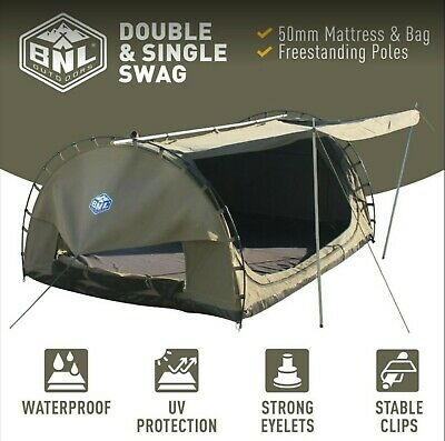 Premium Double Dome Swag 155 Cm Wide (Rrp $490)