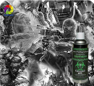 Hydrographic Film Water Transfer Hydro Dip 6Oz Activator With Game Of War Kit