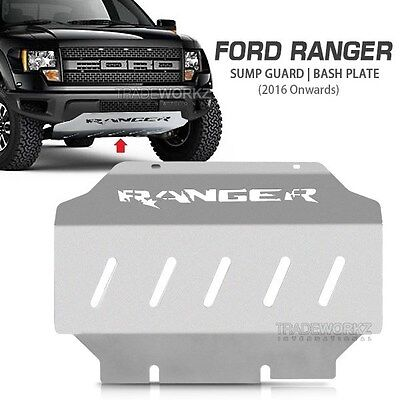 FORD Ranger T6 PX & T7 PX2 Wildtrak 2016-ON Engine Sump Guard Bash Skid Plate