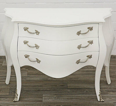 commode galbee style baroque en bois hetre noir et blanc louis xv eur 799 00 picclick fr. Black Bedroom Furniture Sets. Home Design Ideas