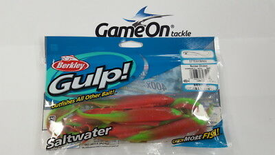 "New Fishing BERKLEY GULP 5 pack 6.5"" Nemesis soft plastics fishing jig lure"