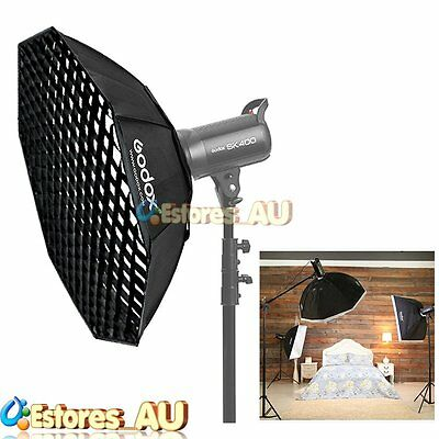 【AU】Godox 95cm Octagon Grid Honeycomb Softbox Bowens Mount For Studio Flash
