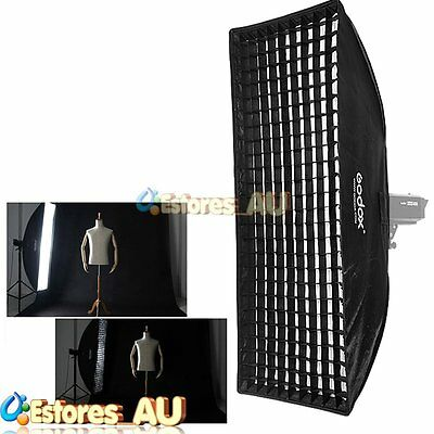 Godox SB-FW 50x130cm Grid Softbox Bowens Mount For Photo Studio Flash Strobe【AU】