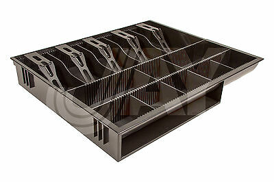 New Money Tray Cash Box Cashier Storage Drawer Security Coin Office