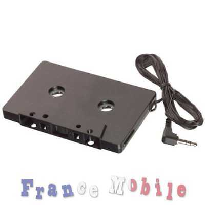 Adaptateur Cassette K7 Autoradio pour iPod MP3 CD iPhone TelePhone Smarphone