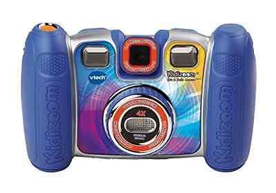 NEW VTech Kidizoom Spin and Smile Camera - Blue FREE SHIPPING