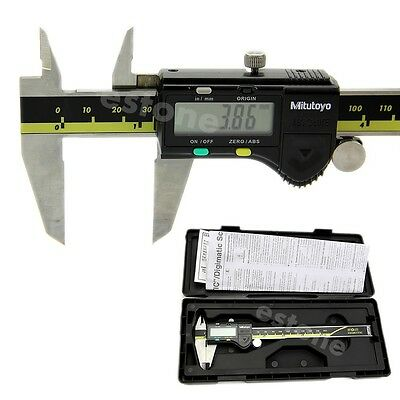 150mm 6 inch Electronic Digital LCD Gauge Stainless Vernier Caliper Micrometer