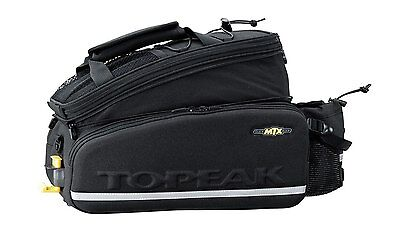 Topeak MTX Bicycle Trunk Bag DX With Rigid Molded Panels - 12.3L  NEW Bicycles O