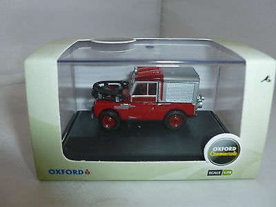 Oxford Diecast Fire Engine Land Rover 88