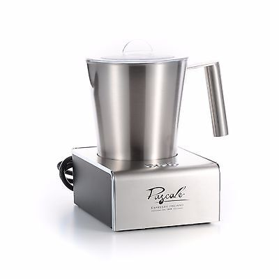 """Pascale"" Stainless Steel 750ml Electric Milk Frother Foamer 220v FREE SHIPPING"
