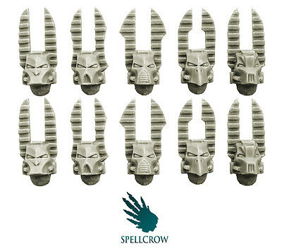Spellcrow - Changed Knights Helmets - CHAOS CHANGED MAGIC BITS